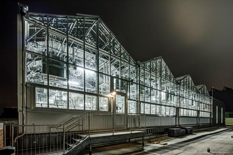 UT Norman Hackerman Greenhouse Exterior
